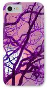 Moon Tree Pink IPhone Case by First Star Art