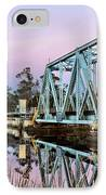 Moonrise Over Milton IPhone Case by JC Findley