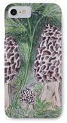 Morel Mushrooms IPhone Case