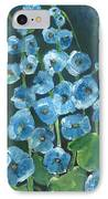 Morning Glory Greetings IPhone Case
