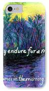 Morning Swan IPhone Case by Catherine Saldana