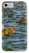 Morning Swim IPhone Case by Omaste Witkowski