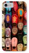 Moroccan Babouches Old Medina Marrakesh Morocco IPhone Case