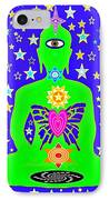 Morphing 3 IPhone Case by Clary Meserve
