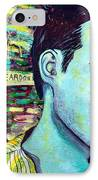 Morrissey IPhone Case by Kat Richey