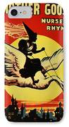 Mother Goose IPhone Case by Bill Cannon