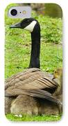 Mother Goose IPhone Case by Bruce Brandli