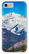 Mount Gardner Close Up IPhone Case by Omaste Witkowski