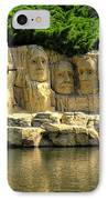 Mount Rushmore IPhone Case by Ricky Barnard