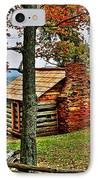 Mountain Cabin 1 IPhone Case