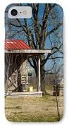 Mountain Cabin In Tennessee 2 IPhone Case by Douglas Barnett