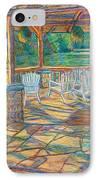 Mountain Lake Shadows IPhone Case