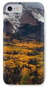 Mountainous Storm IPhone Case