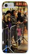 Movie Stars - The Artist Signing Autographs IPhone Case