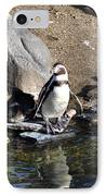 Mr Popper's Penguins IPhone Case by Bill Cannon