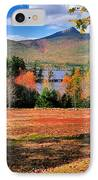 Mt Chocorua - A New Hampshire Scenic IPhone Case by Thomas Schoeller