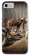 Mud Season - With Border IPhone Case