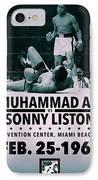 Muhammad Ali Poster IPhone Case