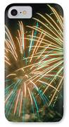 4th Of July Fireworks 2 IPhone Case by Howard Tenke