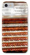 Music - Organist - The Pipe Organ IPhone Case by Mike Savad