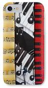 Musical Motifs IPhone Case by Ann Horn