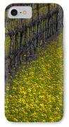 Mustrad Grass In The Vineyards IPhone Case by Garry Gay