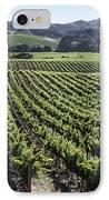 Napa Valley Vineyard IPhone Case by Dee  Savage