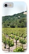 Napa Vineyard With Hills IPhone Case by Shane Kelly
