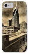 Nashville Grunge IPhone Case by Dan Sproul