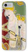 Native Aussies IPhone Case by Pat Saunders-White