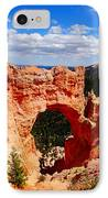 Natural Bridge In Bryce Canyon National Park IPhone Case