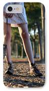 Nature Walk IPhone Case by Laura Fasulo