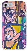 Nba Nuthin' But Africans IPhone Case by Tony B Conscious