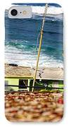 Neighborhood Between City Wall And Ocean IPhone Case
