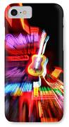 Neon Burst In Downtown Nashville IPhone Case by Dan Sproul
