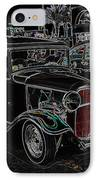 Neon Car Show IPhone Case