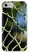 Netting - Abstract IPhone Case by Kaye Menner