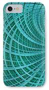 Network IPhone Case by John Edwards