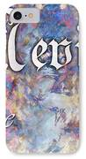Nevie - Wise IPhone Case by Christopher Gaston