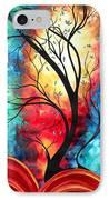 New Beginnings Original Art By Madart IPhone Case by Megan Duncanson