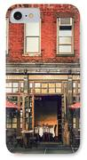 New York City - Cafe In Tribeca IPhone Case