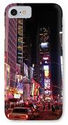 New York New York IPhone Case by Angela Wright