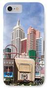 New York New York Las Vegas IPhone Case