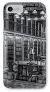 New York Public Library Genealogy Room II IPhone Case