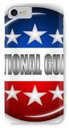 Nice National Guard Shield IPhone Case by Pamela Johnson