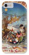 Night Before Christmas IPhone Case by Granger