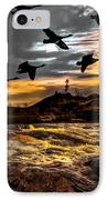 Night Flight IPhone Case by Bob Orsillo