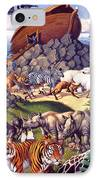 Noah's Ark IPhone Case by Mia Tavonatti