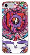 Not Fade Away IPhone Case by Kevin J Cooper Artwork