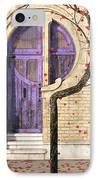 Nouveau IPhone Case by Cynthia Decker